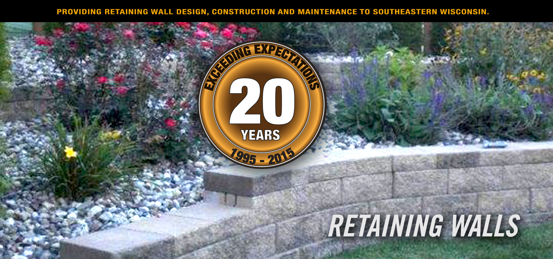 we build retaining walls